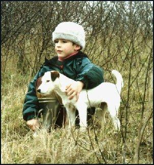Mon fils et Lilly, en 1995