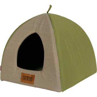 igloo-vert-pour-chien-country